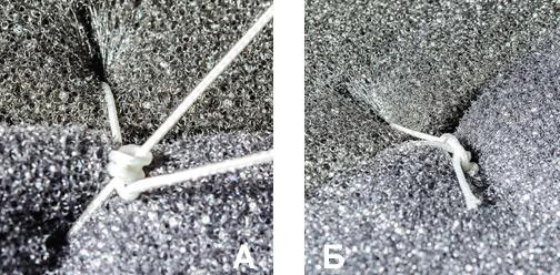 Полностью сформированный узел Roeder